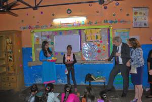 Bezoek Burgemeesters in Kushi life skills training emoties