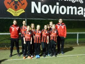 Korfbalclub Noviomagnum sponsort Rainbow Homes